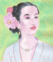 Chinese woman, Comic Art