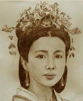 chinese girl, Comic Art