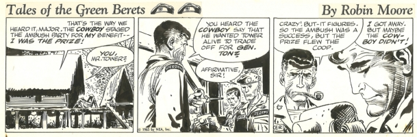 Tales of the Green Berets . Week 7 Day 4 . 1965 . Comic Art