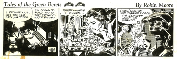 Tales of the Green Berets . Week 7 Day 6 . 1965 . Comic Art