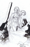 Jim Lee Supergirl Comic Art
