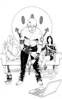 Spider Jerusalem / Transmetropolitan Comic Art