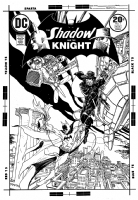 Shadow and the Knight #1 (Kaluta) Comic Art