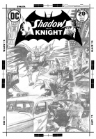 Shadow and the Knight #13 (Colan) Comic Art
