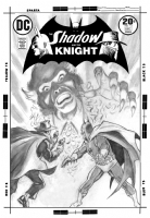 Shadow and the Knight #14 (Tuska) Comic Art