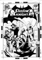 Shadow and the Knight #15 (Giordano) Comic Art