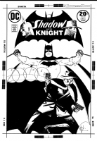 Shadow and the Knight #2 (Chaykin) Comic Art