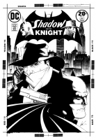 Shadow and the Knight #3 (Chaykin) Comic Art