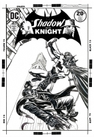 Shadow and the Knight #4 (Weiss) Comic Art