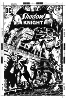The Shadow and the Knight #6 (Golden) Comic Art