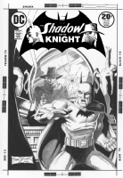 Shadow and the Knight #16 (Brunner) Comic Art