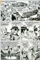 Captain America 101 pg.4, Comic Art
