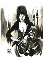 Elvira by Francesco Francavilla, Comic Art