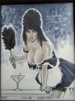 French Maid Elvira by Stephane Roux, Comic Art