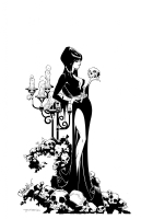 Elvira, Mistress of the Dark by Chris Bachalo and Tim Townsend, Comic Art