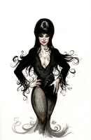 Elvira by Eric Powell, Comic Art