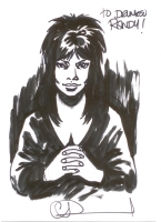 Elvira by Charlie Adlard, Comic Art