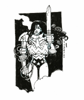 Wonder Woman by Mark Chiarello, Comic Art
