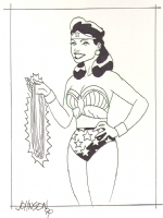 Wonder Woman by the Rev. Dave Johnson, Comic Art