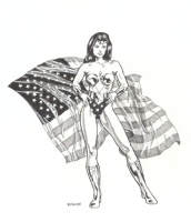 Wonder Woman by Harry Roland Comic Art