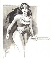 Wonder Woman by Tim Sale Comic Art