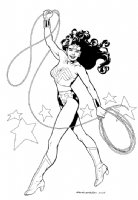 Wonder Woman by Kevin Nowlan Comic Art