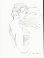 Wonder Woman by Terry Moore Comic Art