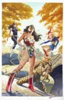 Wonder Woman 222 (Unpublished) by J.G. Jones Comic Art