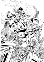 Williams  Garcia-Lopez Back Issue 62 Cover Superman Bizarro Comic Art