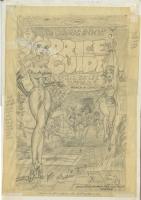 Bill Ward prelim for the 1978 Overstreet Comic Book Price Guide Comic Art