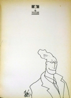 Mattotti vintage sketch Comic Art