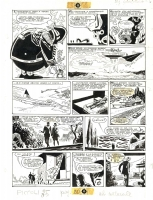 Hugo Pratt L'ombra scan Comic Art