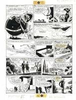 Hugo Pratt L'ombra scan Comic Art