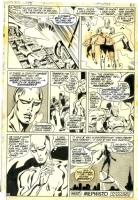 John Buscema Vintage Silver Surfer 15 pg 21 Comic Art