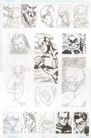 Flash Rogues Jam Page Comic Art