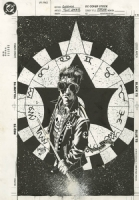 Tony Harris 1994 Starman pinup, Comic Art