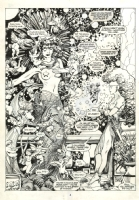 Barry Windsor-Smith - BWS Storyteller Young Gods page 4 splash, Comic Art