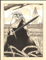 Charles Vess - Elric of Melnibone and Stormbringer, Comic Art