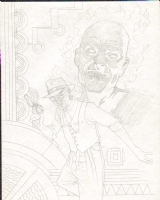 Starman cover prelim, Comic Art