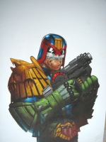 Prog 1145 Judge Dredd Comic Art
