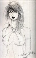 Vampirella by Hoang Nguyen Comic Art