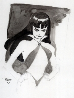 Vampirella by Tim Sale Comic Art