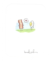 Katie Cook BACON and EGG Love 2014 Comic Art