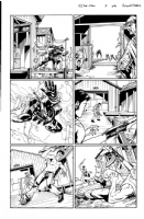 GI Joe -idw #5 pg16, Comic Art