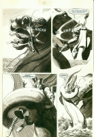 Bizarre Adventures THOR pg10  by John Bolton Comic Art