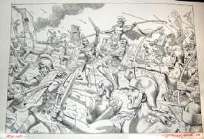 Roman Soldiers Toy Ad 2008 Comic Art