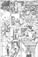 Star Trek ALIENS page 1 Comic Art
