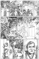 Star Trek ALIENS page 3 Comic Art