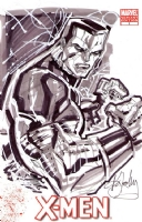 Colossus Sketch Cover by Ken Lashley Comic Art