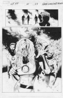 Ultimate Fantastic Four issue 21 page 23 first Marvel Zombies Comic Art